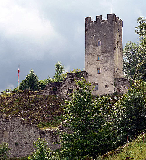 Bergfried Burg Falkenstein